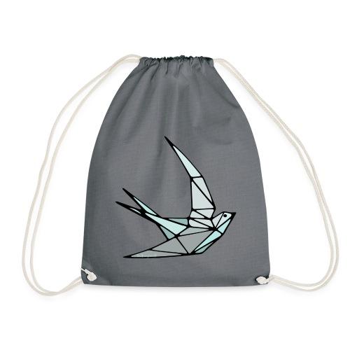 Oiseau (hirondelle) en origami - Sac de sport léger
