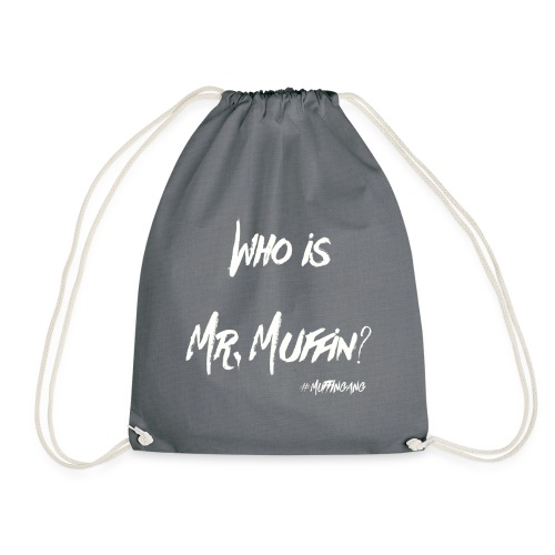 Who is Mr. Muffin White Edition //Special for Caps - Turnbeutel