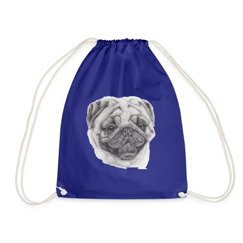Pug mops 2 - Sportstaske