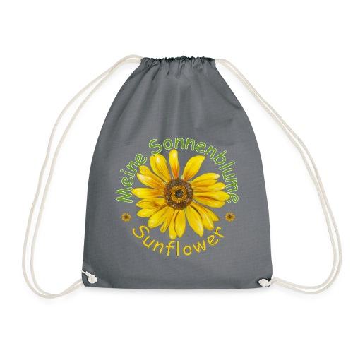 Meine Sonnenblume - Turnbeutel