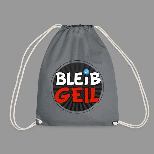 BleibGeil RotSchwarz - Turnbeutel
