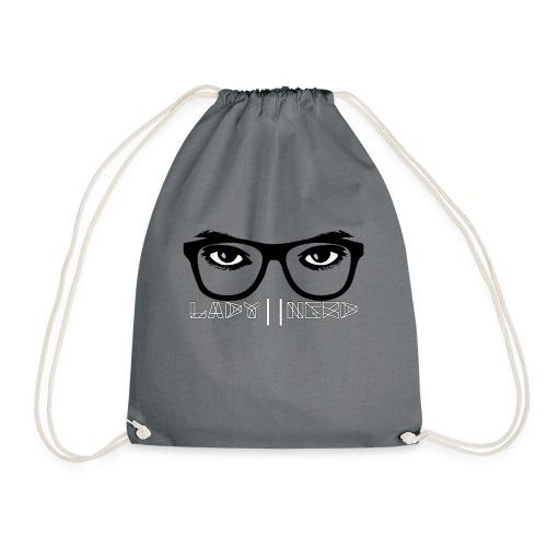Lady Nerd - Drawstring Bag