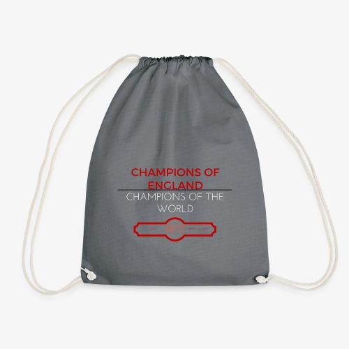 CHAMPIONS OF ENGLAND, CHAMPIONS OF THE WORLD - Drawstring Bag