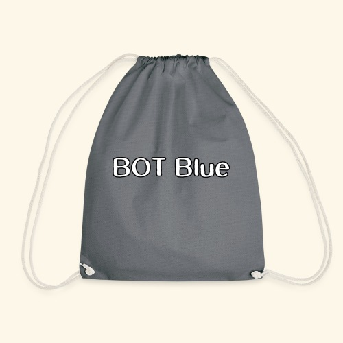 BOT Blue Written Logo - Drawstring Bag