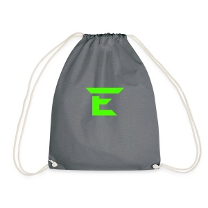 E for Emerald - Drawstring Bag