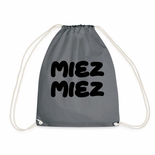 Miez Miez - frei veränderbar - als Vektor - Turnbeutel