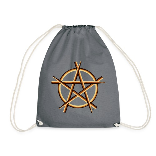 PAGAN DRUMMER - Drawstring Bag