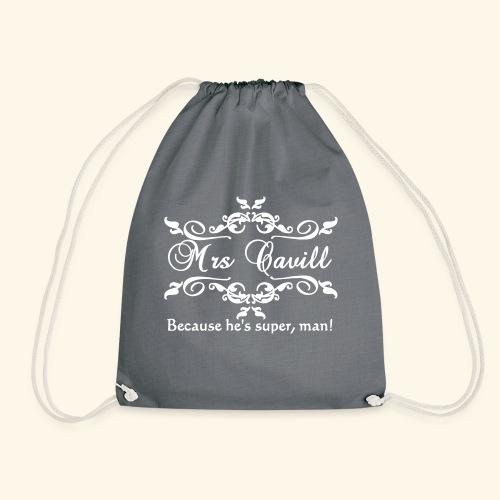 Mrs Cavill - Drawstring Bag