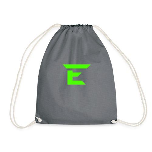 E for Emerald - Drawstring Bag