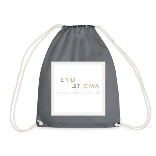 '#End the stigma' of mental health - Drawstring Bag
