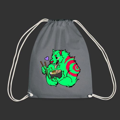 RAMEN WOLF - Drawstring Bag