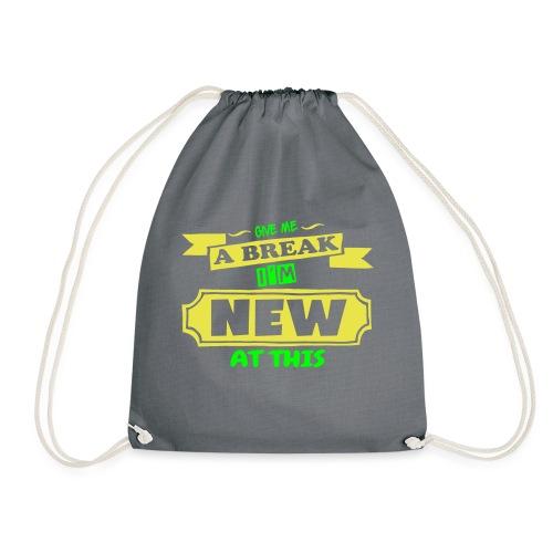 Give Me A Break - Drawstring Bag