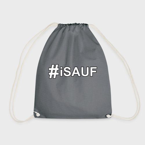 Hashtag iSauf - Turnbeutel