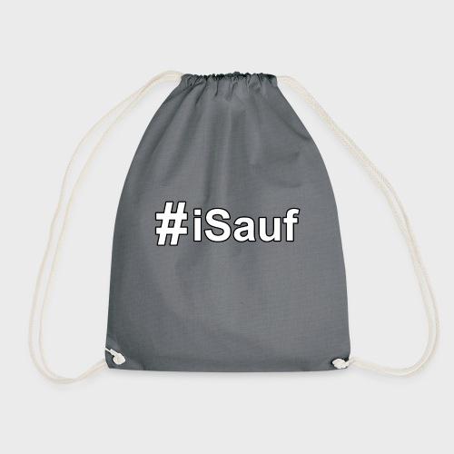 Hashtag iSauf klein - Turnbeutel