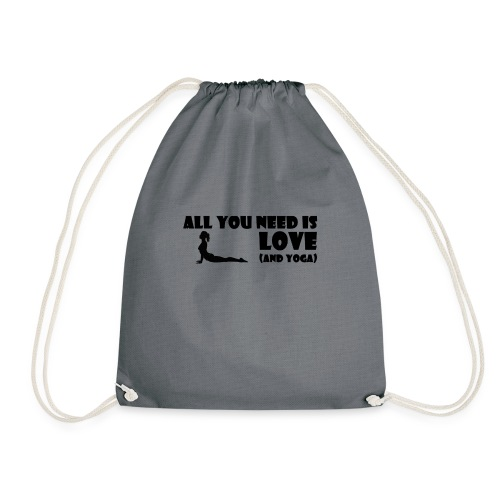 All you need is Love (and Yoga) - Turnbeutel