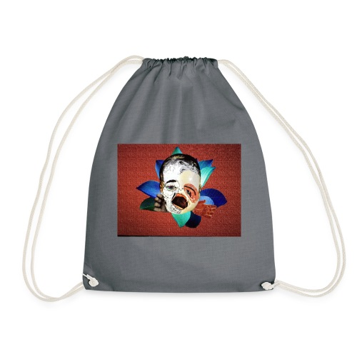 ugly beautiful doll - Drawstring Bag