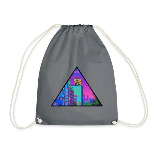 Pixel Street - Drawstring Bag