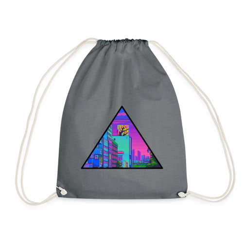 Pixel Street - Drawstring Bag