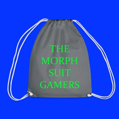 the morph suit gamers clothing etc 1 - Drawstring Bag