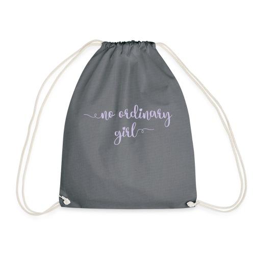 No Ordinary Girl - Drawstring Bag