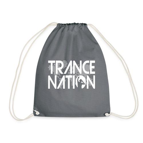 Trance Nation (White) - Gymnastikpåse