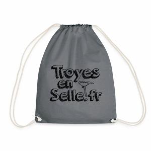 logo Troyes en Selle noir - Sac de sport léger