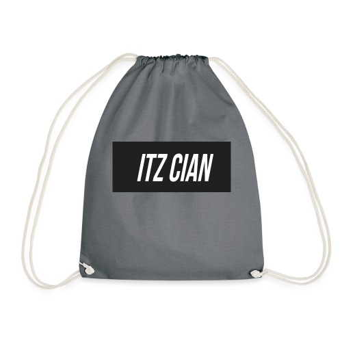 ITZ CIAN RECTANGLE - Drawstring Bag