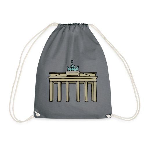 Porta di Brandeburgo a BERLINO c - Sacca sportiva