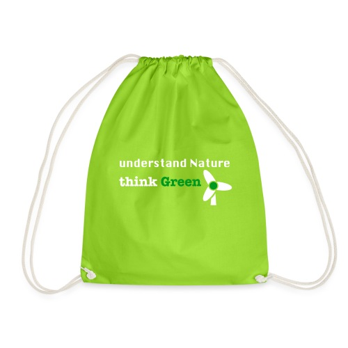Understand Nature! And think Green. - Drawstring Bag