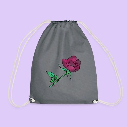 Diseño rose - Mochila saco