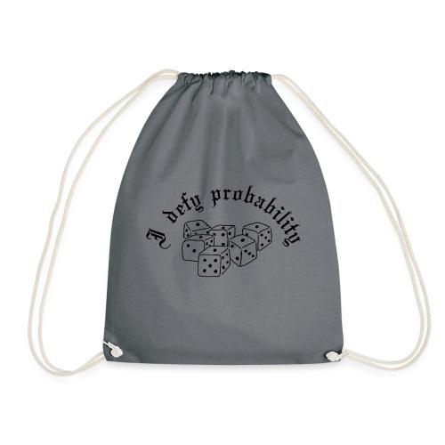 I defy probability - Drawstring Bag