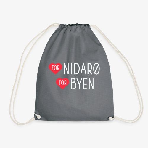 Hjerte for Nidarø - Hjerte for Byen - Gymbag