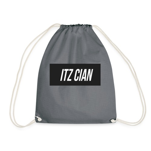 ITZ CIAN RECTANGLE - Drawstring Bag