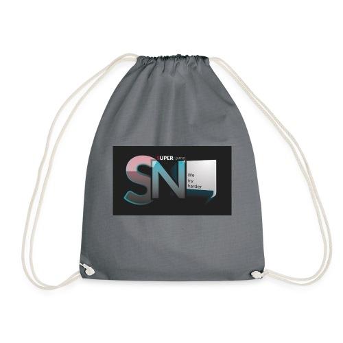 SUPERname We try Harder - Drawstring Bag