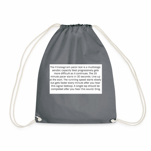 FitnessGram pacer Test - Drawstring Bag