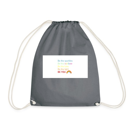 Be the sparkle - Drawstring Bag