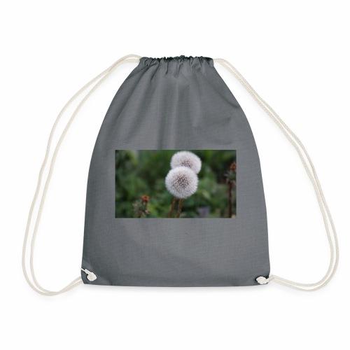 Schönes Blumenbild - Turnbeutel