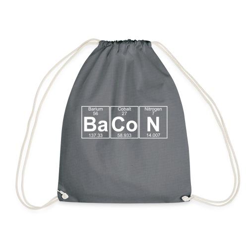 Ba-Co-N (bacon) - Full - Drawstring Bag