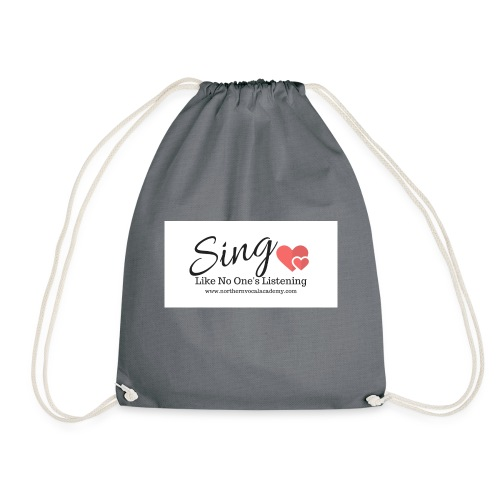 Sing Like No One's Listening - Drawstring Bag