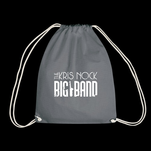 White logo - Drawstring Bag