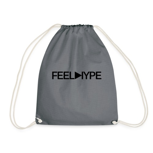 Feel Hype Logo Text - Turnbeutel