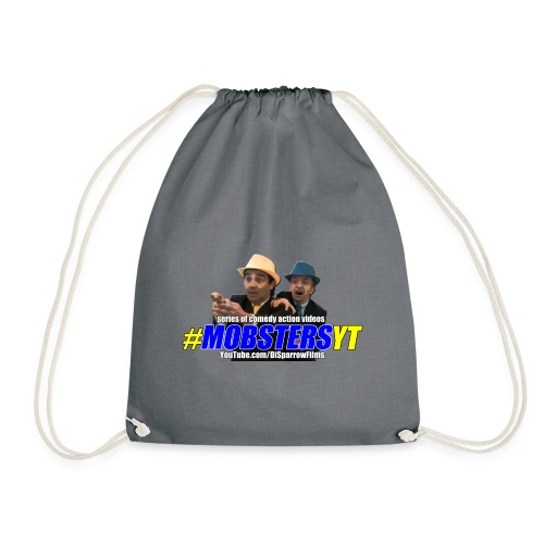 Official MOBSTERS logo and titles - Drawstring Bag