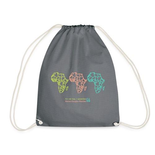 Ramer-Douglas-Peucker Algorithm -Africa - Drawstring Bag