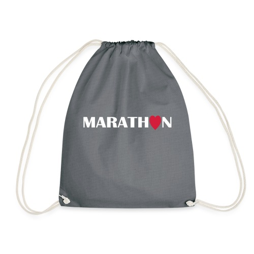 I love Marathon - Turnbeutel