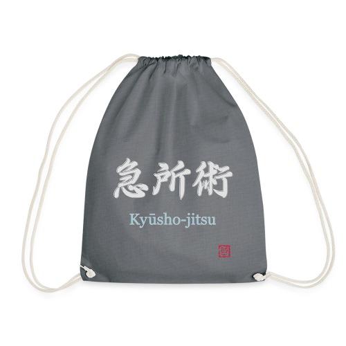 kyusho jitsu for black hoodies - Turnbeutel