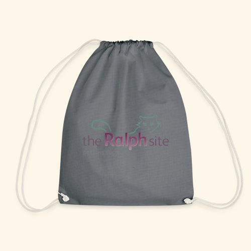 The Ralph Site, non-profit pet bereavement support - Drawstring Bag