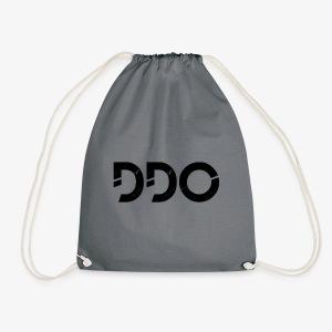 DDO in het zwart. - Gymtas