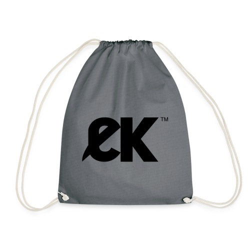 EK logo Black Centred - Gymtas