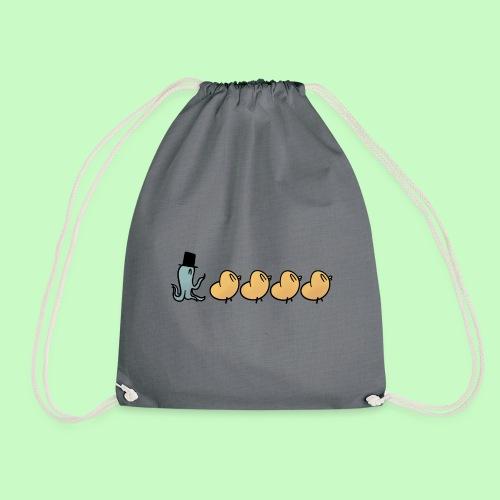 A New Friend - Drawstring Bag