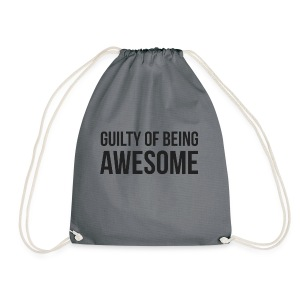 Guilty of being Awesome - Drawstring Bag
